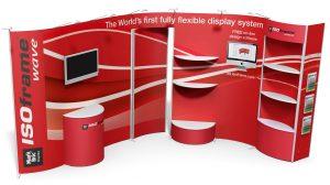 A cég egyedi kiállítási standokat tervez és épít ki az ön személyes igényei szerint.