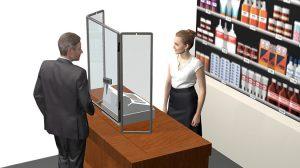 Flexiframe kiszolgáló ablak