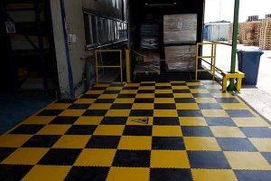 ipari PVC padlók